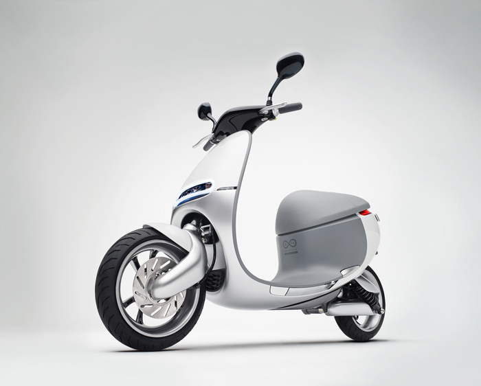 Gogoro推出智能电动摩托车