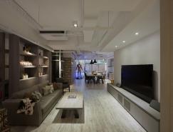 台北未来主义风格的公寓设计