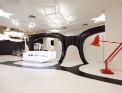 Leo Burnett莫斯科广告公司办公空间设计