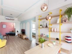 3个精致创意的两居室公寓w88手机官网平台首页