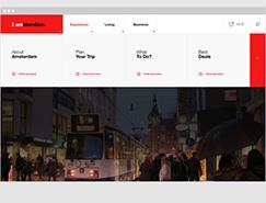 IAmsterdam网页UI设计欣赏