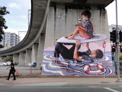 澳大利亚街头艺术家Fintan Magee作品欣赏