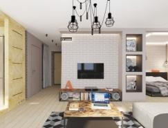 12个时尚艺术的公寓设计欣赏