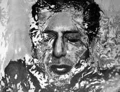 Paul Shangai超逼真的铅笔肖像画欣赏
