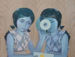 美国艺术家Sean Mahan:木板上绘制优雅的肖像画