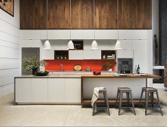 波士顿现代风格Loft公寓设计