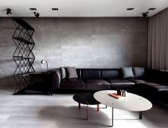 暗黑风格公寓设计