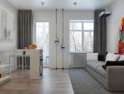3个50平米小公寓设计欣赏