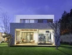 拥有私人花园和庭院的墨西哥8A豪华别墅设计