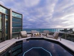 加州现代海滩别墅住宅设计