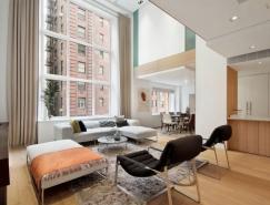 紐約現代複式住宅設計