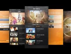 50個創意電影App應用UI設計