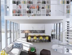 3个纯白Loft阁楼设计