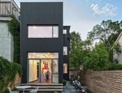 多伦多现代狭长型住宅设计