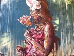 法国Hopare街头艺术作品