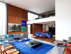 圣保罗Casa IV现代大气的私人住宅设计
