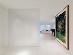 华盛顿纯净白色主题公寓设计