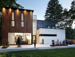 加拿大Aldo大气简约的林中豪宅