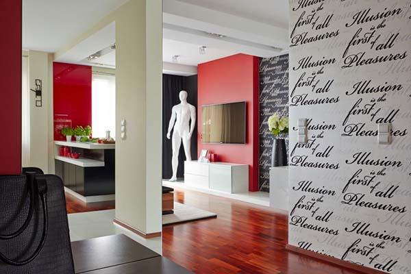 波兰M09艺术风格公寓设计