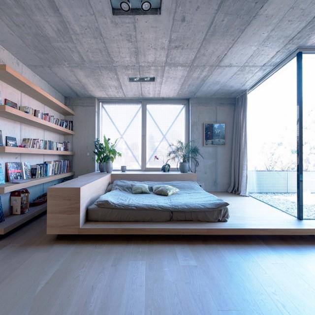 穿孔金屬板覆蓋的極簡裝修風格別墅(2)