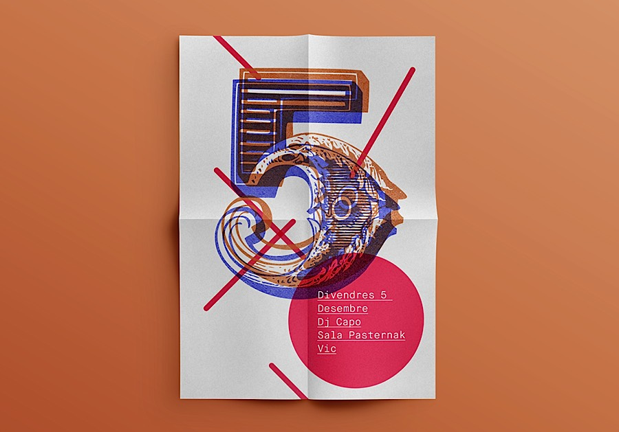 石正林分享:简约的图形,颜色和版式:quim marin创意海报设计