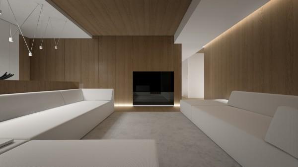 3个极简主义风格住宅装修设计(2)图片