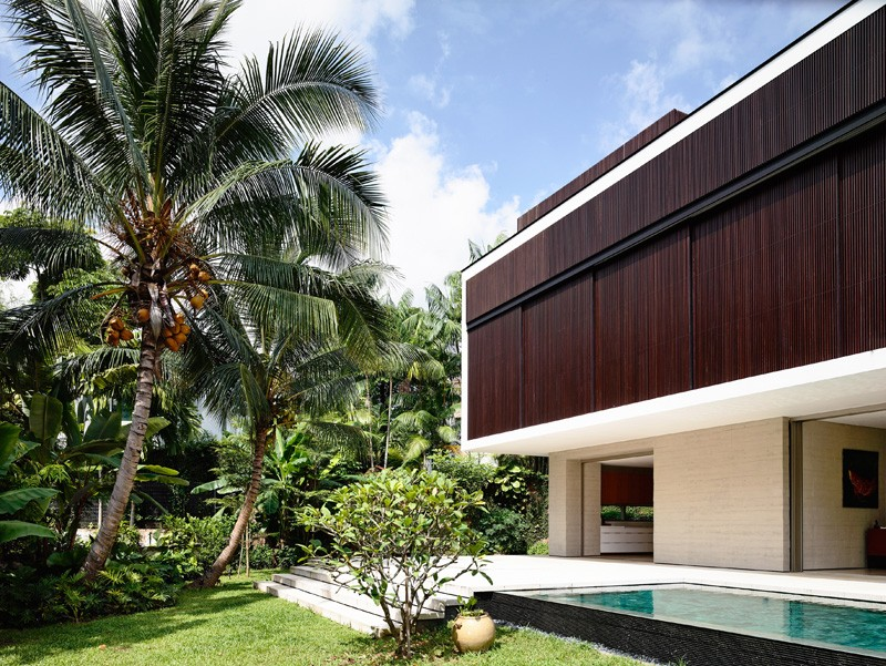 现代风格的旧建筑改造项目:新加坡59BTP住宅设计