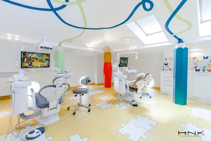 3个充满童趣的儿童牙科诊所设计