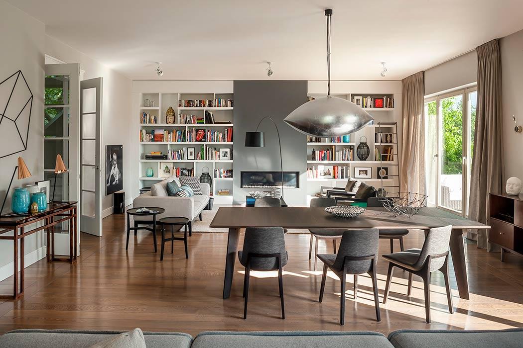 华沙现代优雅的住宅设计
