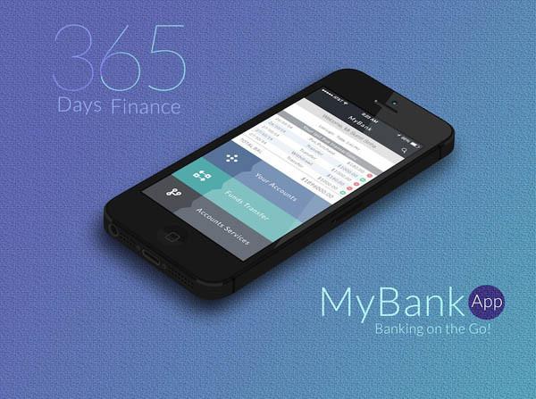 30个手机银行APP界面UI设计欣赏