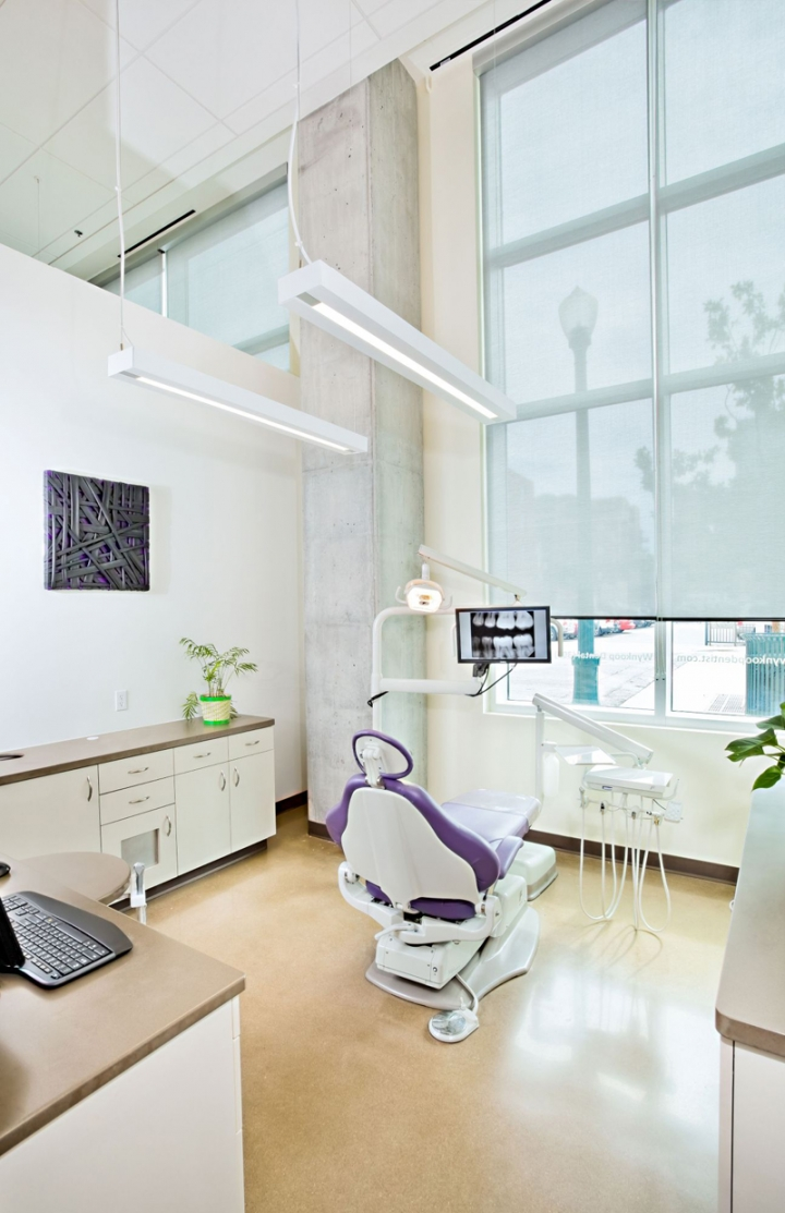 国外牙科诊所创意空间设计(4)