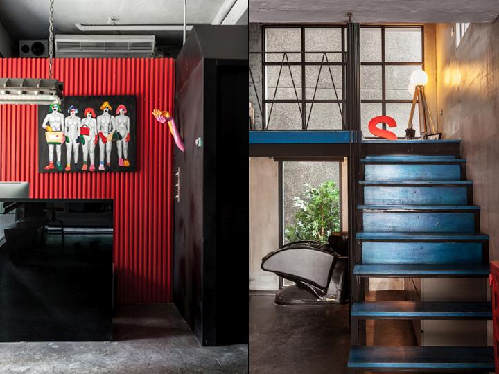 高雄Q-pot美发沙龙室内空间设计