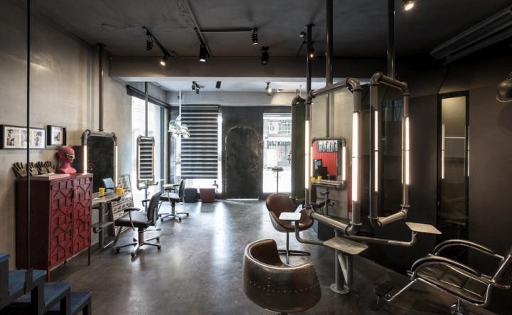 高雄q-pot美发沙龙室内空间设计图片