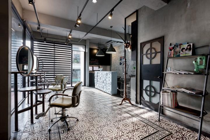 高雄Q-pot设计机械室内空间设计做沙龙美发起码要会什么图片