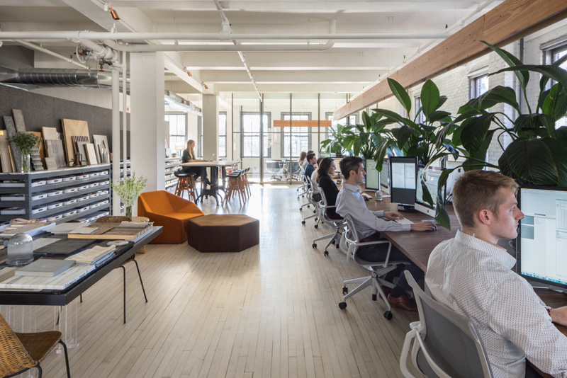 Inc建筑设计事务所纽约办公室设计 设计之家
