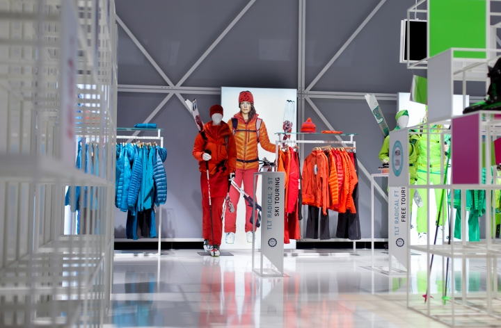 慕尼黑体育用品博览会(ISPO 2015):户外品牌DYNAFIT展厅设计