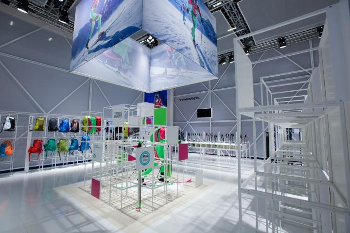 慕尼黑体育用品博览会(ispo 2015):户外品牌dynafit展厅设计图片