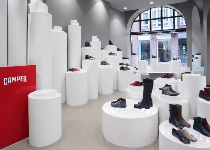 斯德哥尔摩camper鞋专卖店室内空间设计