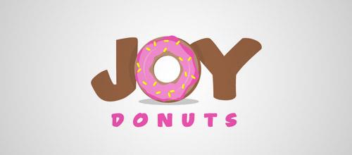 标志设计元素运用实例:甜甜圈(2)