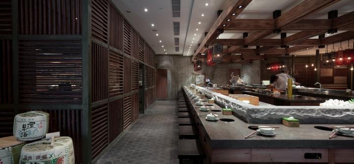 上海齐民有机竹木火锅室内空间设计文库设计加工规范百度餐厅图片
