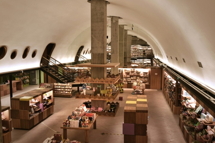 Bookstore New York Coffee
