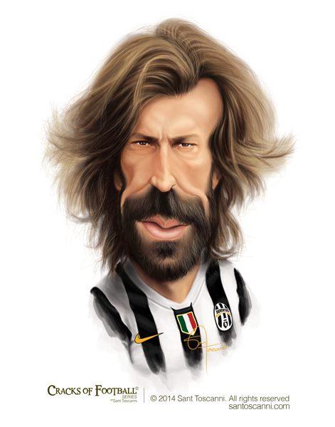 toscanni足球明星卡通漫画头像