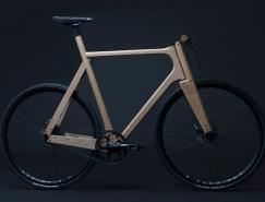 Paul Timmer打造的实木自行车