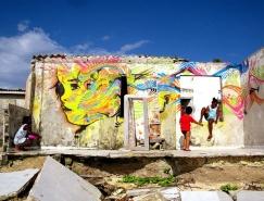 Stinkfish街头涂鸦艺术作品