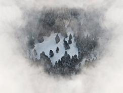 Bernhard Lang迷人的冬季景观航拍摄影澳门金沙网址