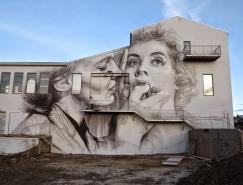 Guido van Helten街头肖像壁画作品
