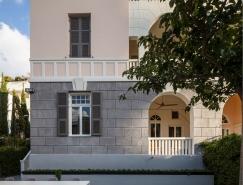 特拉维夫老建筑的现代风格装修设计