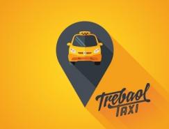 标志皇冠新2网元素运用实例:出租车