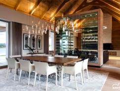 使用自然材料的南非豪华庄园别墅