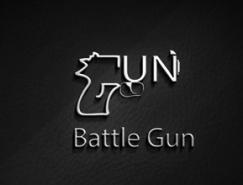 标志设计元素运用实例:枪